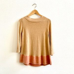 Anthropologie Angel of the North Block Color Swtr